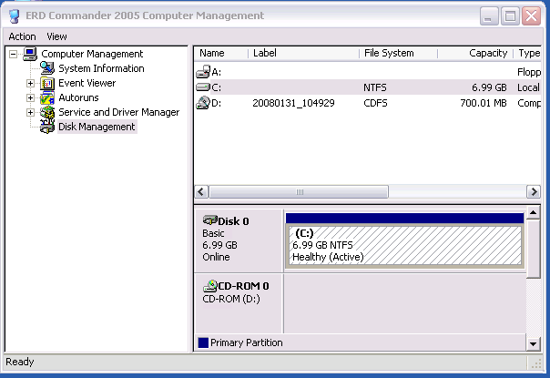 ERD Commander - Administrative Tools