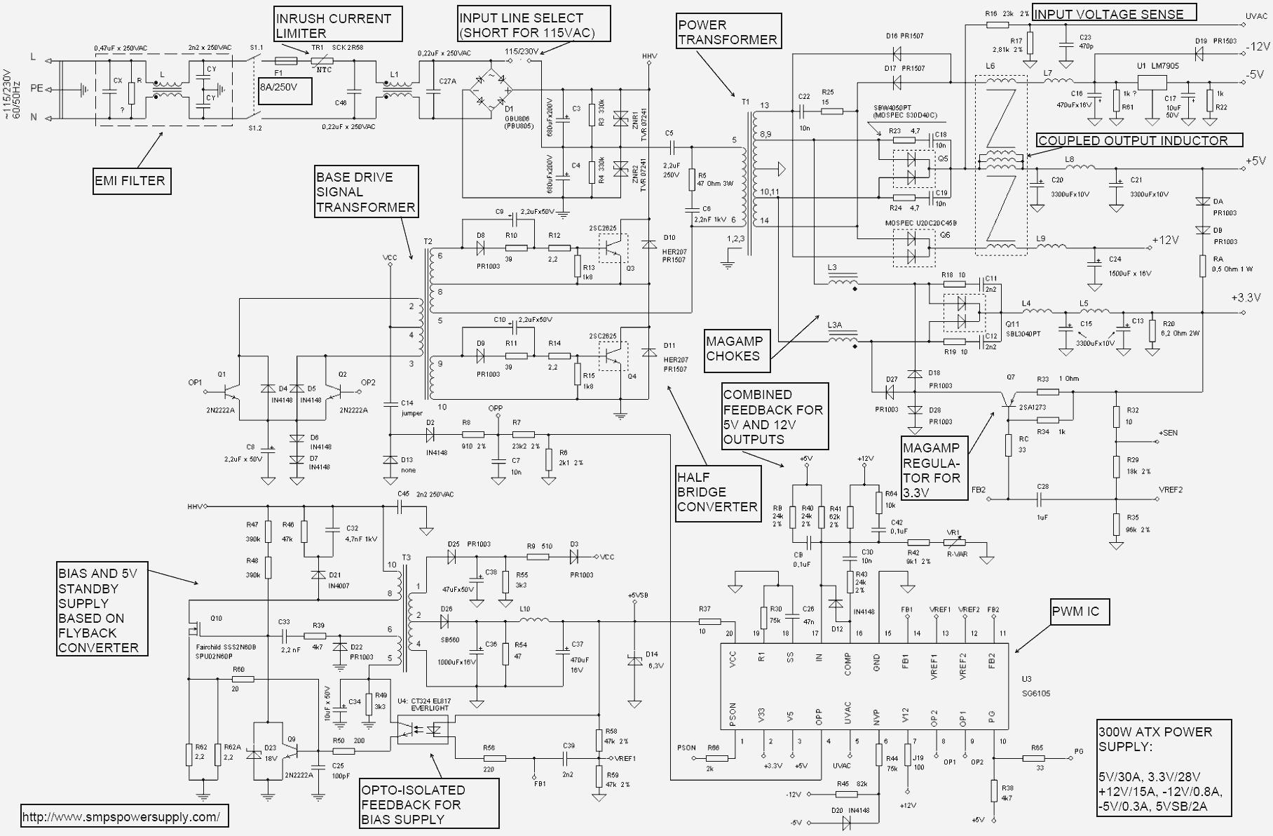 Großartig Atx Schematisch Ideen - Elektrische Schaltplan-Ideen ...