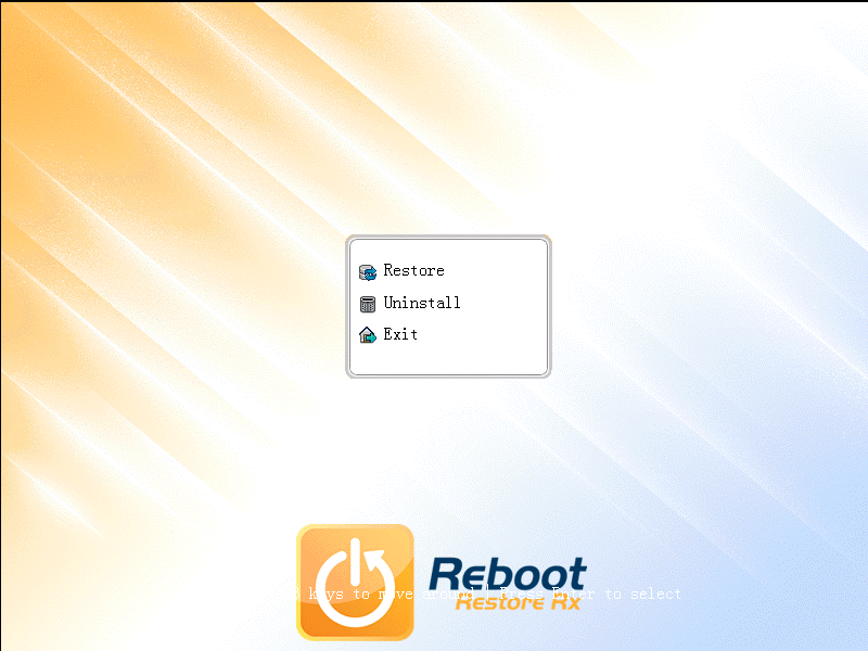 Консоль восстановления  Reboot Restore Rx