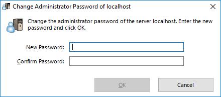 Изменение пароля для доступа к  SoftEther VPN Server