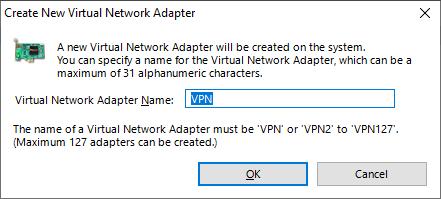 Параметры адаптера SoftEther VPN Client.